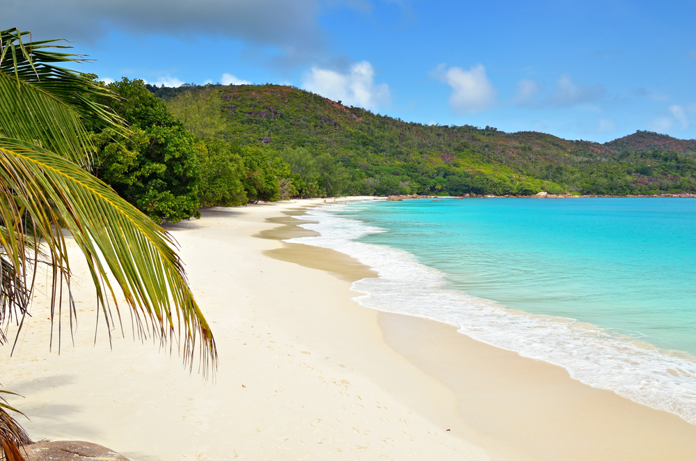 aSeychelles Praslin Anse Lazio Beautiful Beach