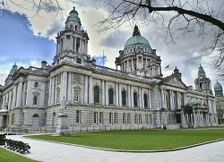 Ireland Belfast city hall