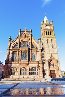 Ireland Derry guild hall