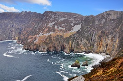 Ireland donegal slieve league cliff